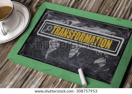 search for transformation concept on blackboard