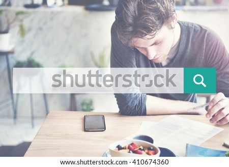 Search Looking For Search Exploration Seeking Concept - stock photo