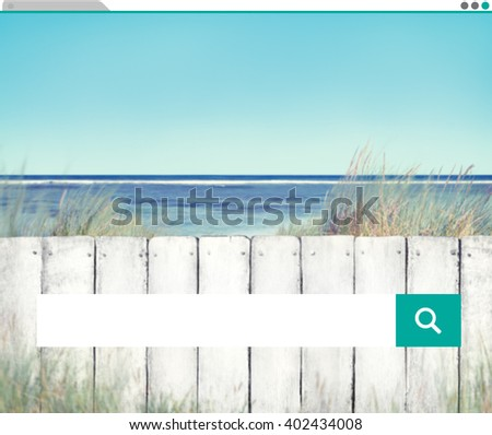 Search Searching Information Internet Sharing Concept - stock photo