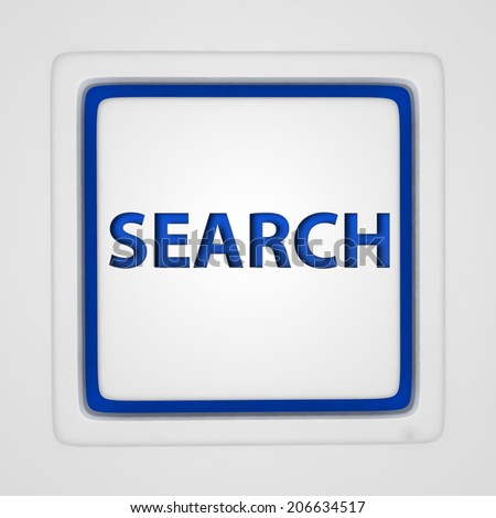 search square icon on white background