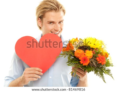 searching for love - stock photo
