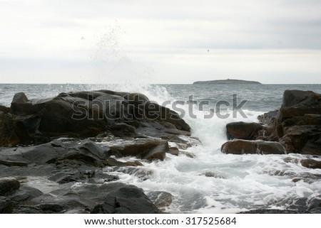 seascape 2 - stock photo