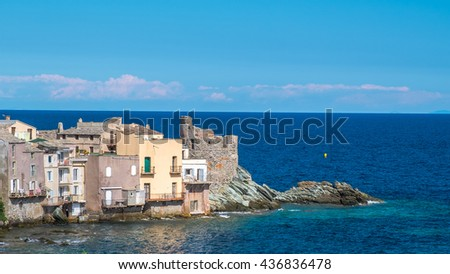 Seascape of Corse - France