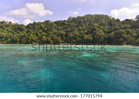 Seascape with Gulf of Thailand