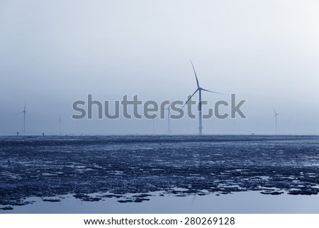 Seaside wind power