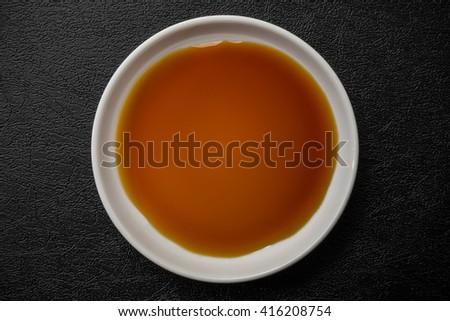 Seasoning of fresh soy sauce Japan - stock photo