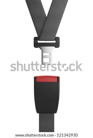 Seat belt - stock photo