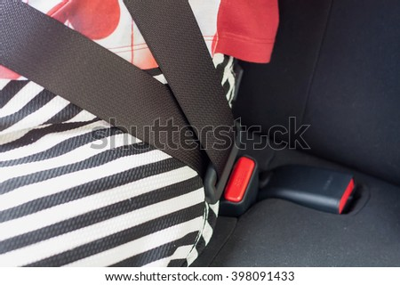 Seat Belt in the car