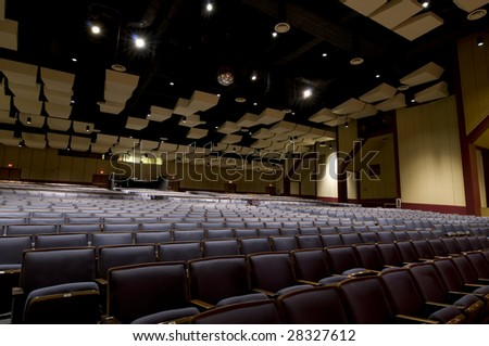 Seating at Performing Arts Center