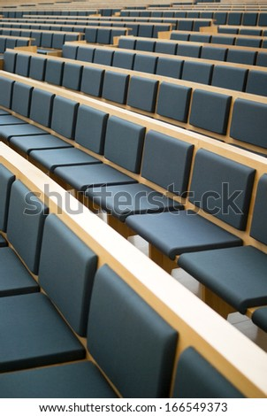 Seats in a conference room