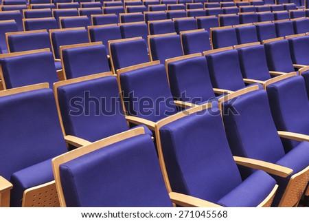 Seats in Auditorium  - stock photo