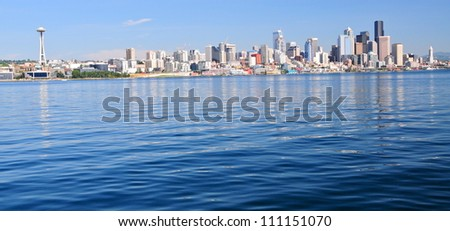 Seattle Skyline, Wa, USA - stock photo