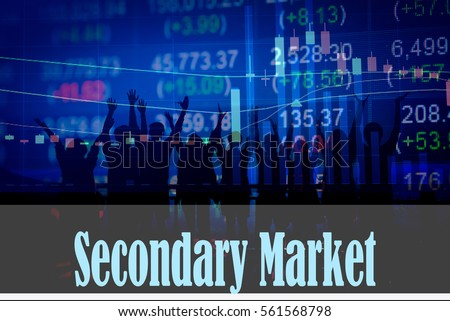 write about the secondary markets pricing
