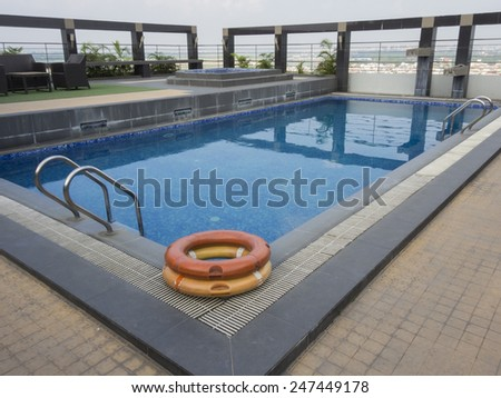 secure with pool