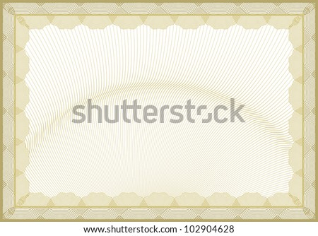 Secured document background - stock photo