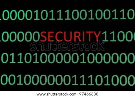 Security - stock photo