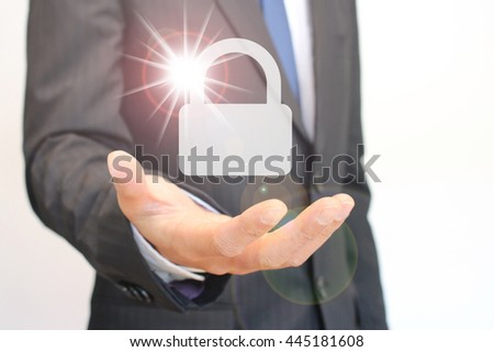 Security and Protection!! - stock photo