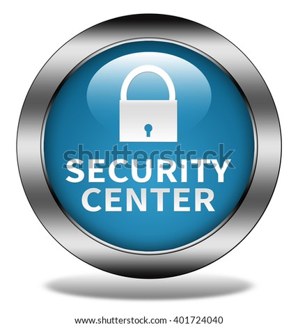 Security center button isolated