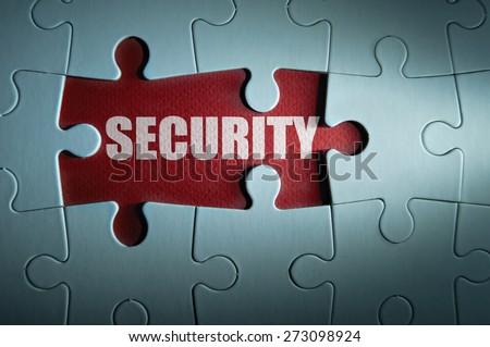 Security concept - stock photo