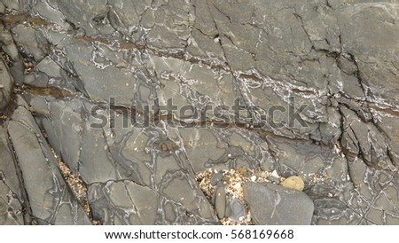 sedimentary rock pattern texture background.