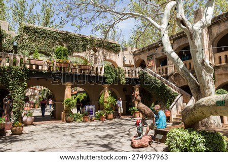 Tlaquepaque stock images royalty free images vectors for Sedona architects