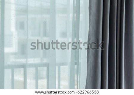 See through curtains