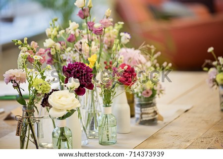 See Through Glass Vases Flowers On Stock Photo Safe To Use
