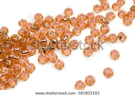 Seed beads, also known as crystals. perfect for creating jewelry.