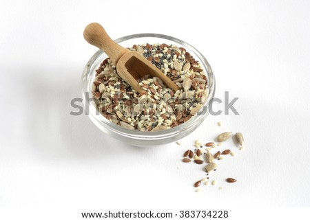 Seed Bread - stock photo