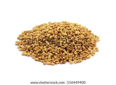 Seed of Fenugreek (Trigonella foenum-graecum). Cuboid-shaped, yellow- to amber-colored fenugreek seeds are frequently encountered in the cuisines of the Indian subcontinent.
