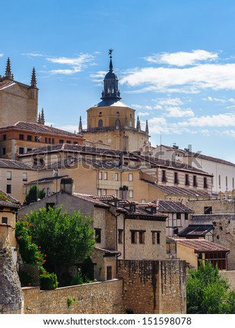 Segovia, a city in the autonomous region of Castile and Le���³n, Spain.