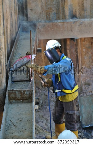 Sheet Pile Wall Stock Images Royalty Free Images