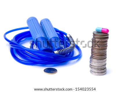 Select value of health care - stock photo