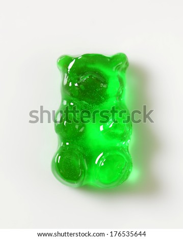 Selection of gummy bears - stock photo