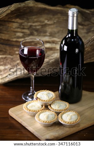 Selection of mince pies