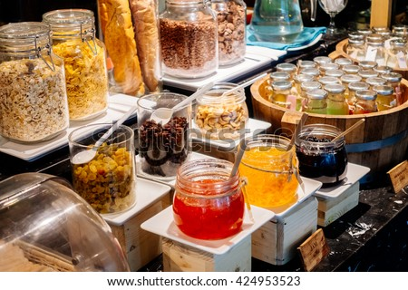 Breakfast Buffet Stock Images Royalty Free Images Vectors Shutterstock