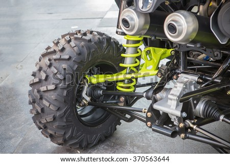 Selective focus wheel and shock absorber of Buggy car