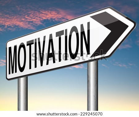 self motivation and inspiration get inspired or inspire others give an energy boost optimistic with text and word  - stock photo