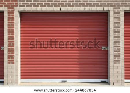 Self Storage Unit - stock photo