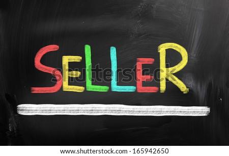 Seller Concept - stock photo
