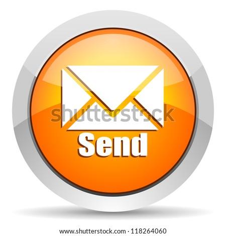 send icon - stock photo