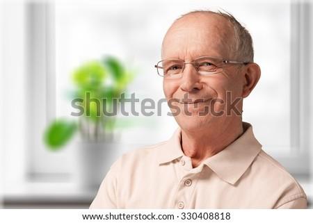 Senior Adult. - stock photo