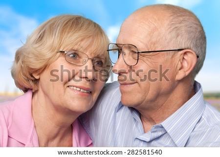 Senior Adult, Old, People. - stock photo