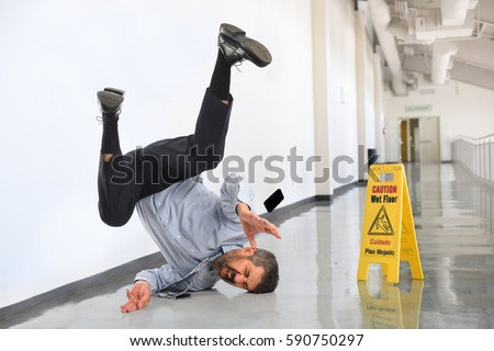 Slip And Fall Stock Images Royalty Free Images Amp Vectors
