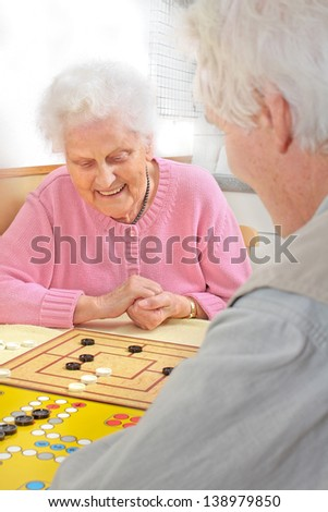 Seniors Afternoon - stock photo