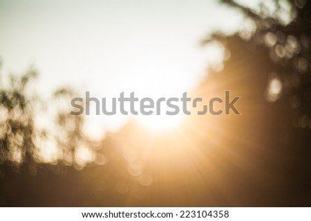 Senses of Flare. Flare touch. - stock photo