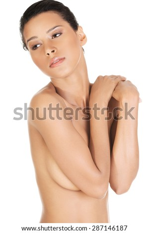 Sensual portrait of a nude woman.