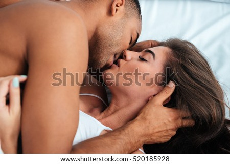 Most Romantic Bedroom Kisses couple kissing stock images, royalty-free images & vectors