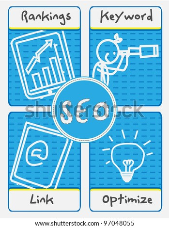 SEO Concept - stock photo