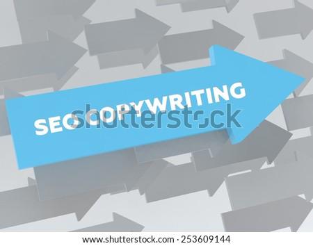 SEO COPYWRITING - stock photo